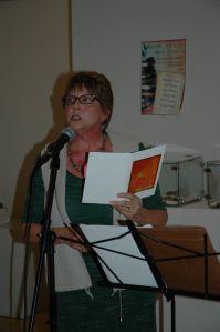 "Kenosha Poet Laureate Jean Preston reads from her chapbook ""Sixteen Mothers"""