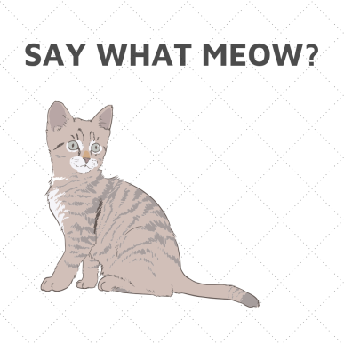 SAY WHAT MEOW_